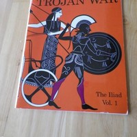A Coloring Book of the Trojan War: The Iliad Vol. 1