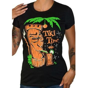 Tiki Time Women's Tee
