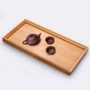 Chinese Traditional Bamboo Tray Ceremony Teapot Kung Fu Tea Tools Wedding Tea Set Hot Sale Household Tea Board
