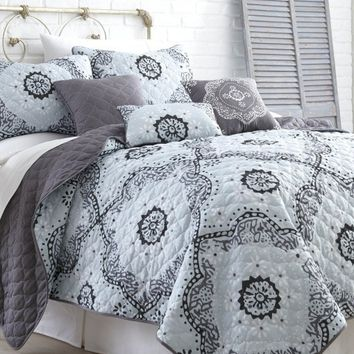 6 Piece Quilt Set(Delany)