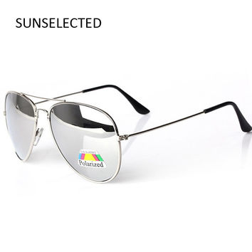 Mirrored Polarized Sunglasses Women 2016 New Fashion Brand Designer Vintage Sun Glasses Female Driving Outdoor Shades 30025#