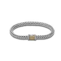 John Hardy children's collection extra-small oval chain bracelet