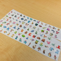 GENERATION 2 POKEMON PLANNER STICKER! PERFECT FOR YOUR ERIN CONDREN LIFE PLANNER,FILOFAX,PLUM PAPER & OTHER PLANNER OR SCARPBOOKING!