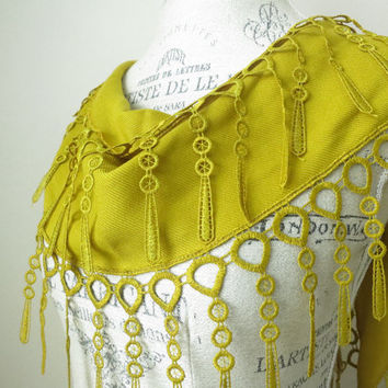 Ship from USA Mustard Yellow Best Quality Cotton by SistersLace