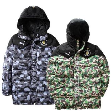 Mens Bape X Puma Jacket 2colors