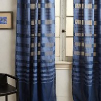 Ascending Stripes Curtain by Anthropologie