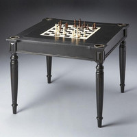 Butler Specialty Black Licorice Multi-Game Card Table - 0837111