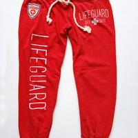 Ladies Lifeguard® Off Duty Garment Washed Sweatpants