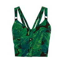 Palm Latino Print Crop - New In This Week - New In
