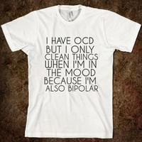 Cleaning Bipolar Casual T-Shirt