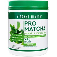 Vibrant Health - Pro Matcha, Whole Food Protein Supplement, Natural, 15 Servings