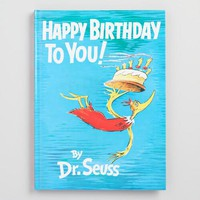 Dr. Seuss Happy Birthday to You Book