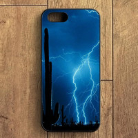 Lightning Cactus iPhone 5 Case