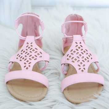 Girls Sand Dollar Sandals