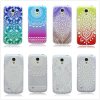 Colorful Printed Transparent Floral Lucky Flower Clear Soft Elephant Tree TPU Case Cover For Samsung Galaxy S4 Mini I9190