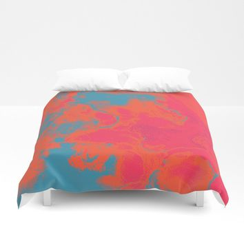 Pixelated Duvet Cover by duckyb