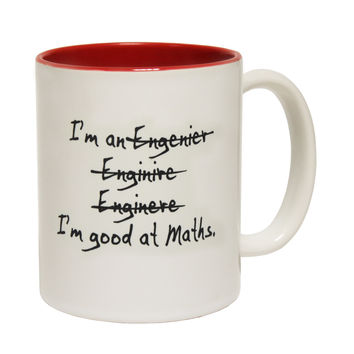 123t USA Engineer Funny Mug
