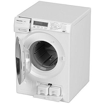 Kids Pretend Play Interactive Real Washing Machine Playset with Real Water