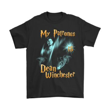 AUGUAU My Patronus Is Dean Winchester Supernatural Shirts