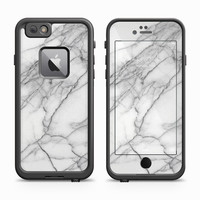Marbleized Italian Marble Skin for the Apple iPhone LifeProof Fre Case
