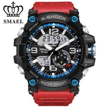 2017 new fashion sports watches men wristwatch LDE ourdoor waterproof sport military G style S Shock watches men's luxury brand