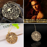 Pirates of the Caribbean Gold Coin Necklace Speical Offer - Mayhem Threads