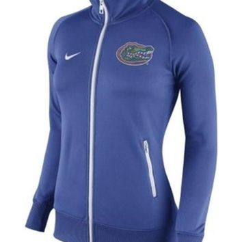 ONETOW NCAA Florida Gators Nike Women's Royal Stadium Classic Full Zip
