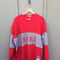 USA Made 49ers Logo Pullover