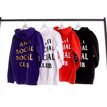 VXL8HQ ANTI SOCIAL CLUB Fashion Casual Long Sleeve Sweater Pullover Sweatshirt G-KAN-TK