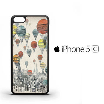 Voyages over Edinburgh V0244 iPhone 5C Case