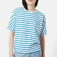Women's Topshop Boutique Seamless Stripe Tee