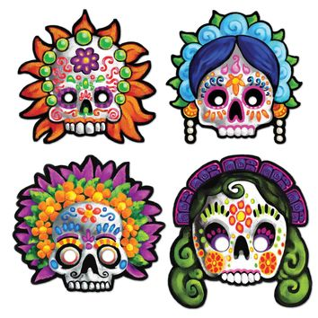 Day Of The Dead Masks for Halloween