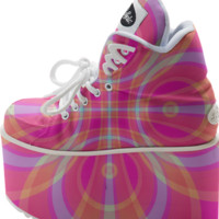 PINKA Buffalo Platform Shoes created by Webgrrl | Print All Over Me