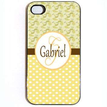 iPhone 4 4s Personalized Name Hard Snap on Case by KustomCases