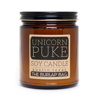 The Burlap Bag - Unicorn Puke candle