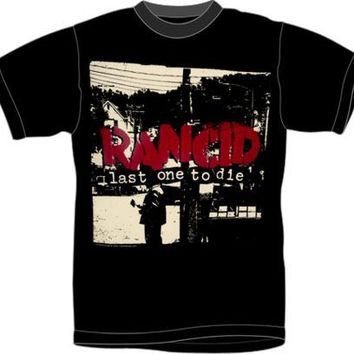 Rancid T-Shirt - Last One To Die Cover Tour