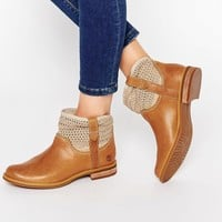 Timberland Savin Beige Hill Ankle Boots