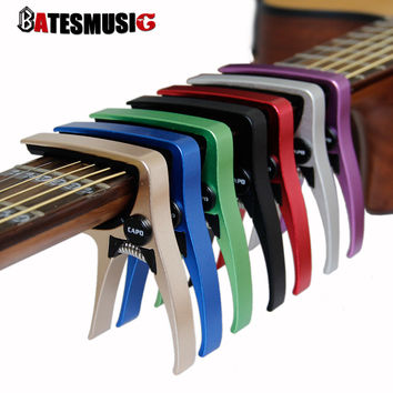Guitar Capo for acoustic and electric guitars  Total aluminium material Guitar Accessories