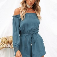 Saskia Playsuit (Teal)