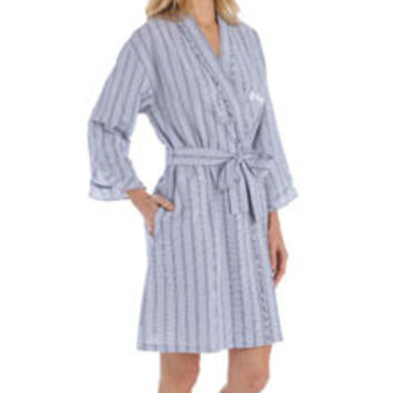 Eileen West 5115923 Summertime Short Wrap Robe