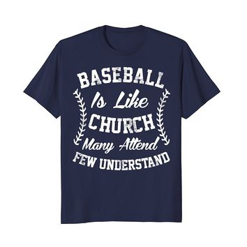 Funny Baseball Graphic Sports T-Shirt