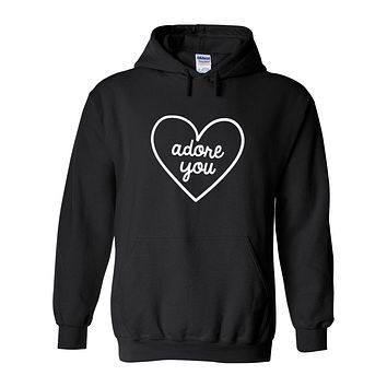 "Harry Styles ""Adore You Heart"" Hoodie Sweatshirt"