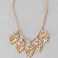 TULSA JEWELED STATEMENT NECKLACE