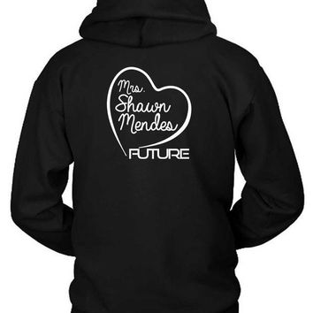 ESBH9S Shawn Mendes Mrs Shawn Mendes Future Hoodie Two Sided