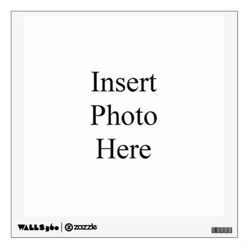 Design Your Own Custom Photo Square Wall Decal