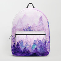 Fade Away Ultra Violet Backpack by vivianagonzlez