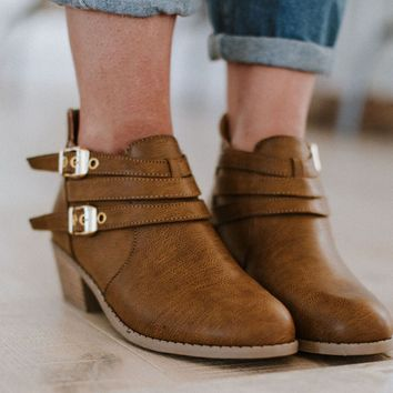 Double Trouble Boho Ankle Bootie