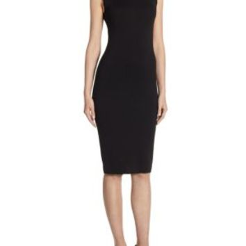 L'AGENCE - Iman Ribbed Bodycon Dress
