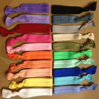Solid Elastic Hair Ties (and bracelets)