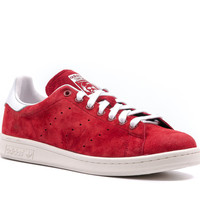 adidas ORIGINALS STAN SMITH SUEDE - RED